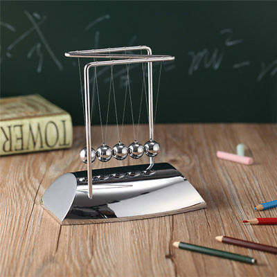New Newtons Cradle Endless Entertainment Steel Balance Balls Physics Pendulum