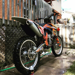 250cc dirt bike /ktm