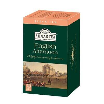 AHMAD TEA English Afternoon Black Tea  20 Tea Bags