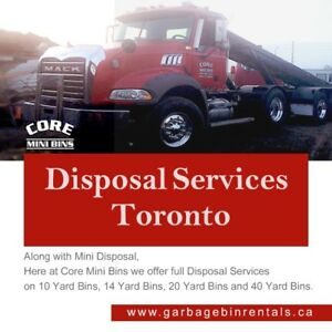 Disposal services and Premium Quality Soil Mixtures
