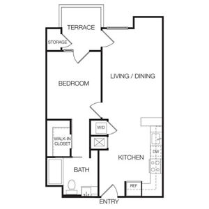 Need neat and clean 1 bedroom for rental.