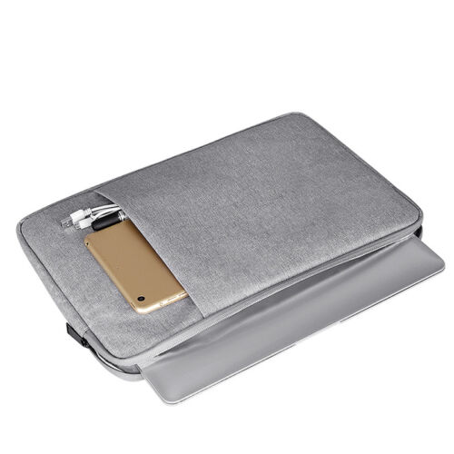15.6 inch Zipped Laptop Case Tablet Holder Sleeve Protective