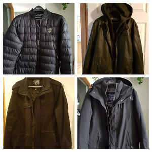Men's Jackets - I have a few too many.