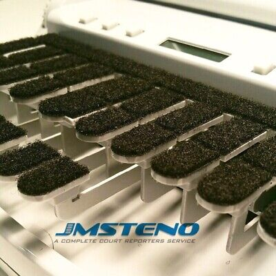 Steno Writer Keytop Covers Black Velcr For Stenograph