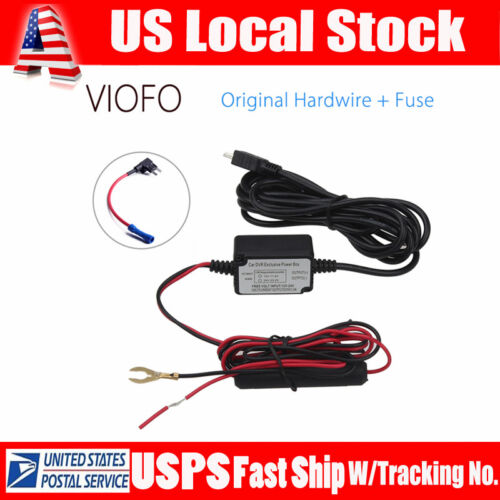 Car/Vehicle Dash Cam Hardwire Adapter Fuse Kit For VIOFO A11