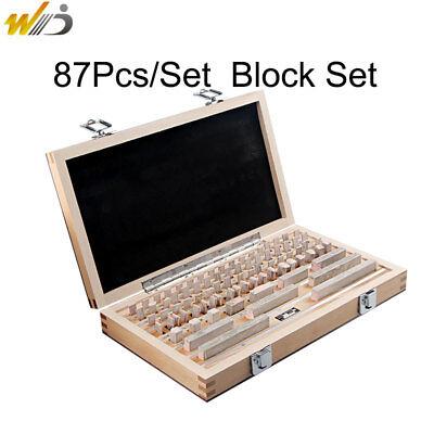 Block Gauge 87pcsset 0 Grade Caliper Block Gauge Inspection Block Gauge Tools