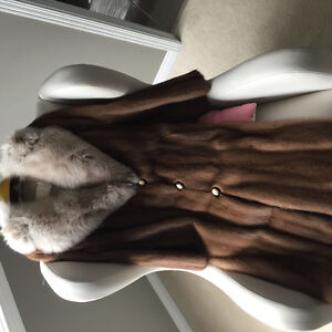 A fur coat from fleshers fur