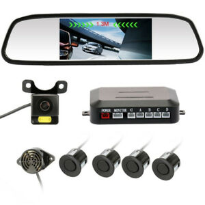 Brand New Vehicle Backup Camera Sensor Monitor 5.0inch TFT LCD