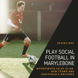 SPACES - Marylebone 5-a-side leagues!