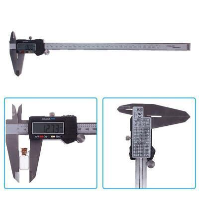 300mm 12 Inch Electronic Digital Vernier Caliper Gauge Micrometer Ruler