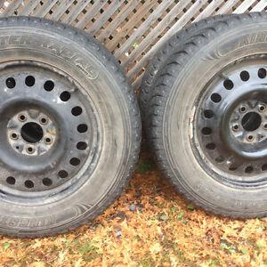 4 roues et pneu235-65 17