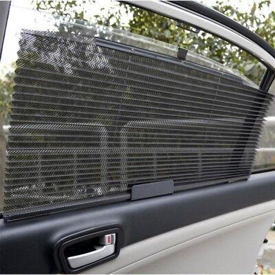 Retractable Car Roller Blind Sun shade Side Rear Window Mesh Sun-shading Curtain