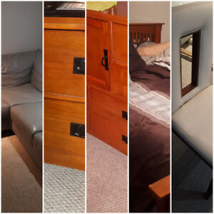 scaling down, good furniture available, best offers,