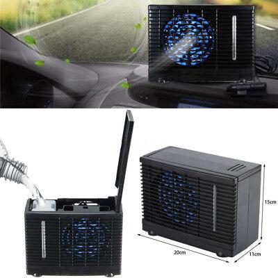 Adjustable 12V In Car Air Conditioner Cooler Cooling Refreshing Fan Evaporative