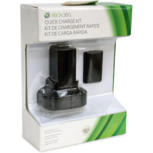 official microsoft Xbox 360 Quick Charge Kit