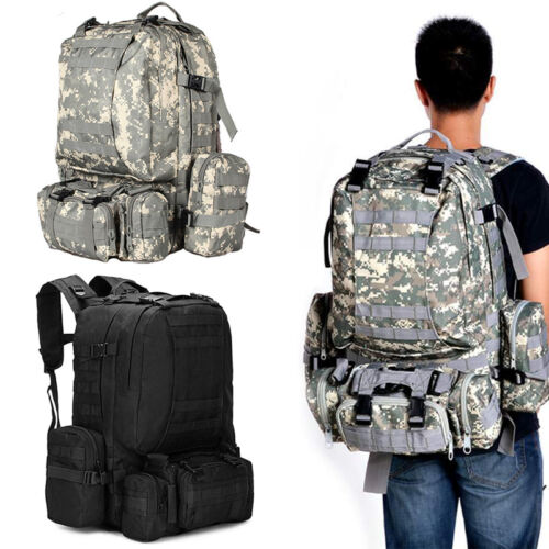 Hot Open-air Neutral Adjustable Military Tactic Backpack Rucksacks Hiking Travel