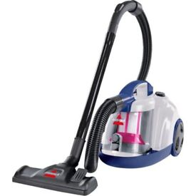 A BISSELL 2396E CLEANVIEW COMPACT BAGLESS CYLINDER VACUUM CLEANER HOOVER