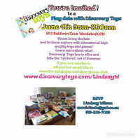 Play Date with Discovery Toys ! Family event !