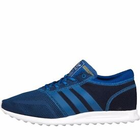 Brand New Boxed Adidas Originals Mens Los Angeles Trainers Night Navy/Blue/Core - UK Size 9 - Mens