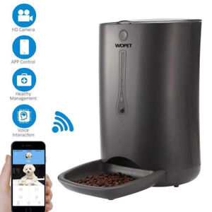 SmartFeeder,Automatic Pet Dog and Cat Feeder,6-Meal Auto Pet Fee