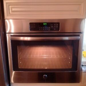 """30"""" Electric Wall Oven Stainless Steel"""