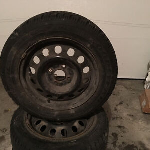 4 tire with rim for Toyota echo Gatineau Ottawa / Gatineau Area image 4