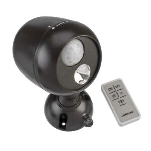 Mr. Beams MB371 Motion Sensing LED Remote Outdoor Security Light