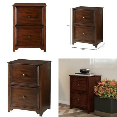 Oxford Chestnut Wooden Vertical File Cabinet 2 Drawer Home Office Storage Filing Oxford File Cabinets