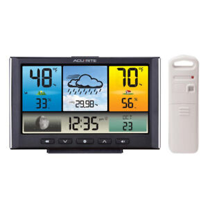 %$%like new Acurite Weather Station météo with Colour Display
