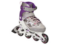 Oxelo inline Skates size 32 to 35, almost like new