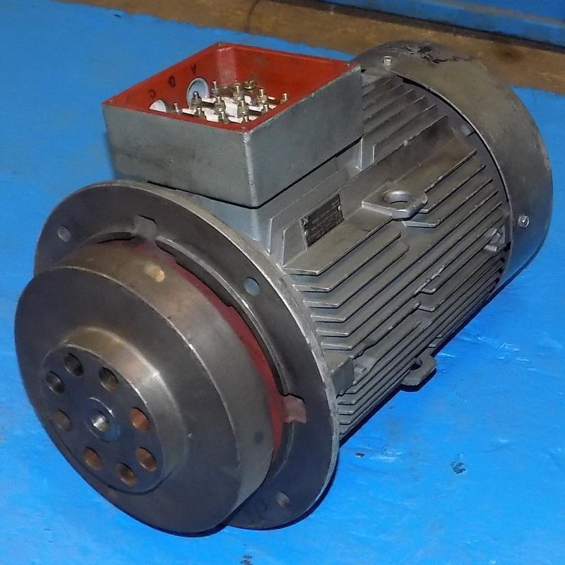 AEG 3PH 230/460V 1750RPM 9KW MOTOR TYPE AM 132 MR4