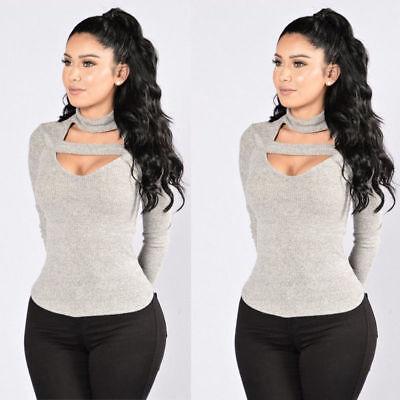 Us Stock Fashion Women Ladies Summer Autumn Casual Long Sleeve Shirt Tops Blouse
