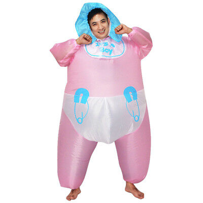 Inflatable Blowup Fat Suit Fancy Dress Adult Baby Girl Halloween (Fat Girl Kostüm)
