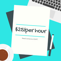 Need general labour - Feb 22, Feb 24 - $25/hour