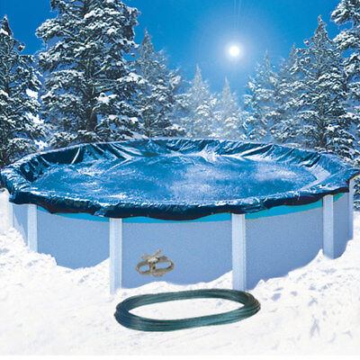 18' Economy Round Above Ground Swimming Pool Winter Cover 8 Yr. Warranty