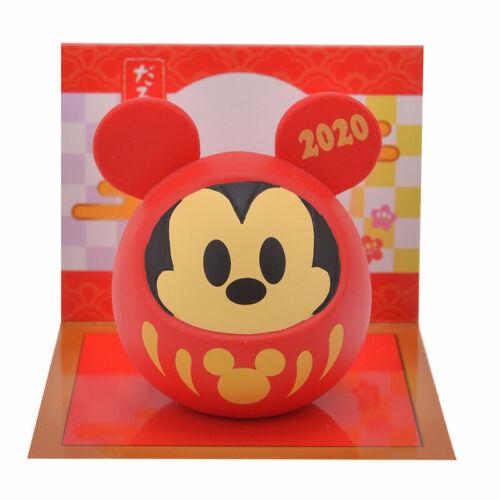 JDS Japan Disney store Mickey mascot daruma  Eto Disney 2020 New Year Daruma JP