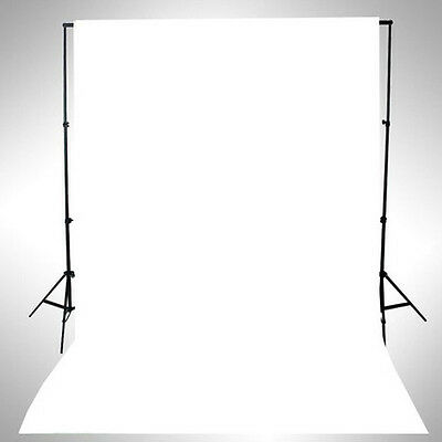 WHITE Thin Vinyl Photography Backdrop Background Studio Photo Prop Durable 3x5ft