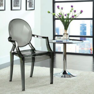 Efron Elements Ghost Modern Dining Chairs