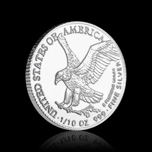 2021 Type 2 American Silver Eagle Design 1/10 OZ .999 Fine Silver Uncirculated