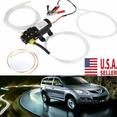 Motor Oil Diesel Fuel Fluid Extractor 12v Change Pump Electric Siphon Transfer