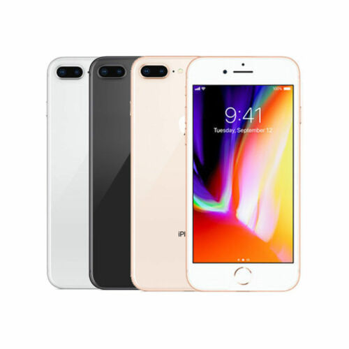 iPhone 8 Plus 8+ Apple 64GB 256GB Factory Unlocked Mobile Smartphone iOS WiFi Cell Phones & Accessories