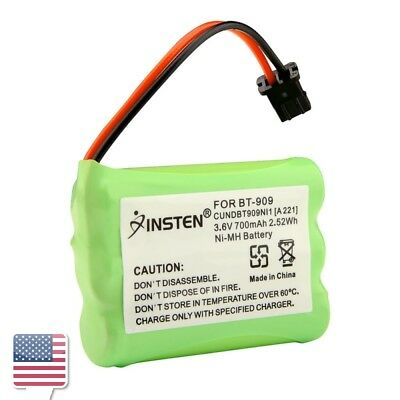 3.6V 700mAh Green Ni-MH Battery For Uniden BT909 Cordless Phone
