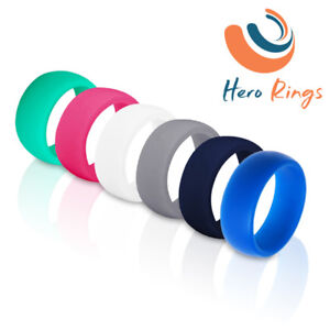 Silicone Wedding Rings, Rubber Wedding Ring, Sport Wedding Ring