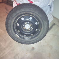 4x100/4x113 steel wheels and snow tires