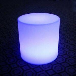 LED Outdoor Stool Changes 16 Different Color by Remote Light Chair Glowing Box 212038