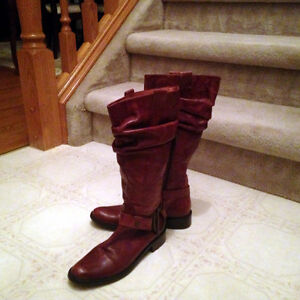 Soft Italian Leather Ladies' Boots