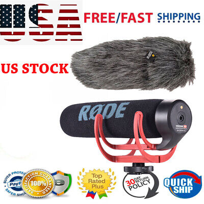 RODE VideoMic Go Super Cardioid Directional Camera Shotgun Microphone Mic F DSLR