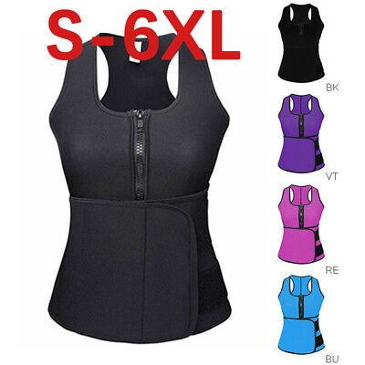 Sauna Slim Belt - Plus Size Shapewear Waist Trainer Vest Gym Slim Shaper Sauna Sweat Belt Shapes