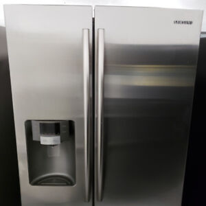 FRIDGE SAMSUNG MODEL RS267TDRS STAINLESS STEEL WITH WARRANTY!