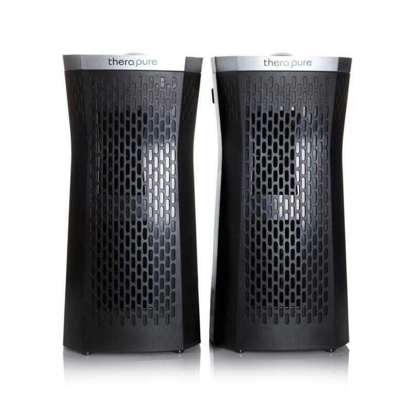 Set of 2 Therapure TPP320 Air Purifiers Brand New Black UVC